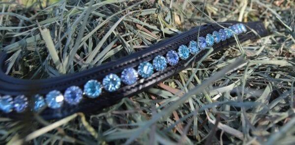 crystal black browband - blue multi 4